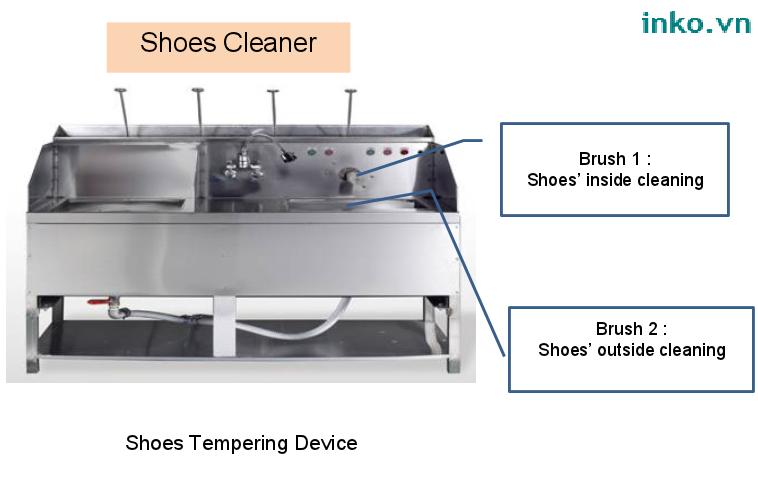 Máy giặt giầy model HSCW-SC