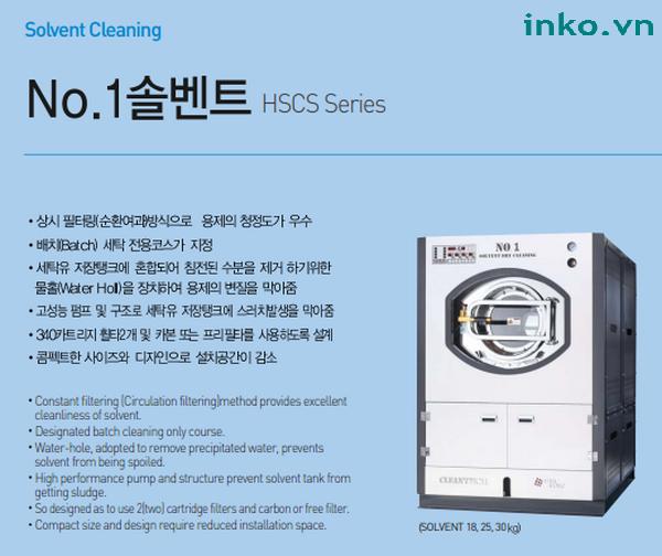 Cung cấp máy giặt khô 18kg, 25kg, 30kg