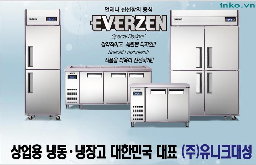 Tủ mát 4 cánh Hàn Quốc