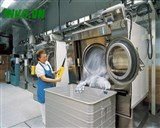How to install industrial laundry shop