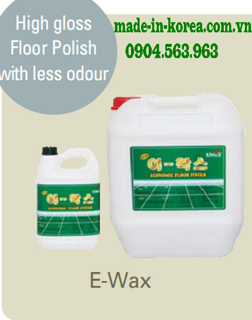 High gloss floor polish with less odour for How long does floor wax take to dry